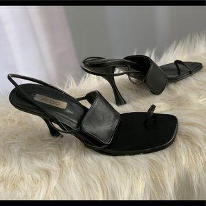 Aldo genuine leather strappy heels size 7